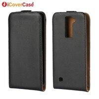 Fundas Flip Leather Case For LG K8 Case Cover For LG K8 LTE K350E K350N K350