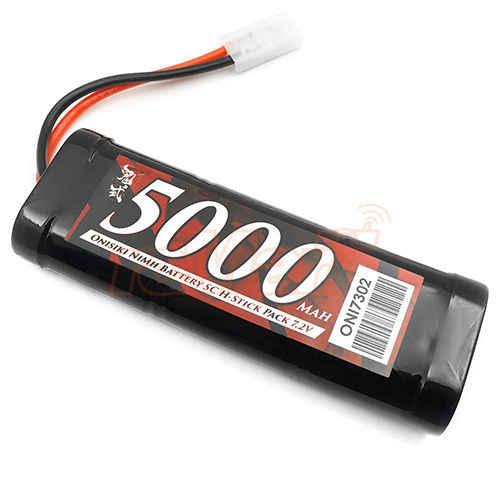 Cncool 6-Cell Sub-C Stick Pack NiMh 7,2 V батарея 5000 mAh RC автомобили дрейф # ONI7302 RC игрушки для детей