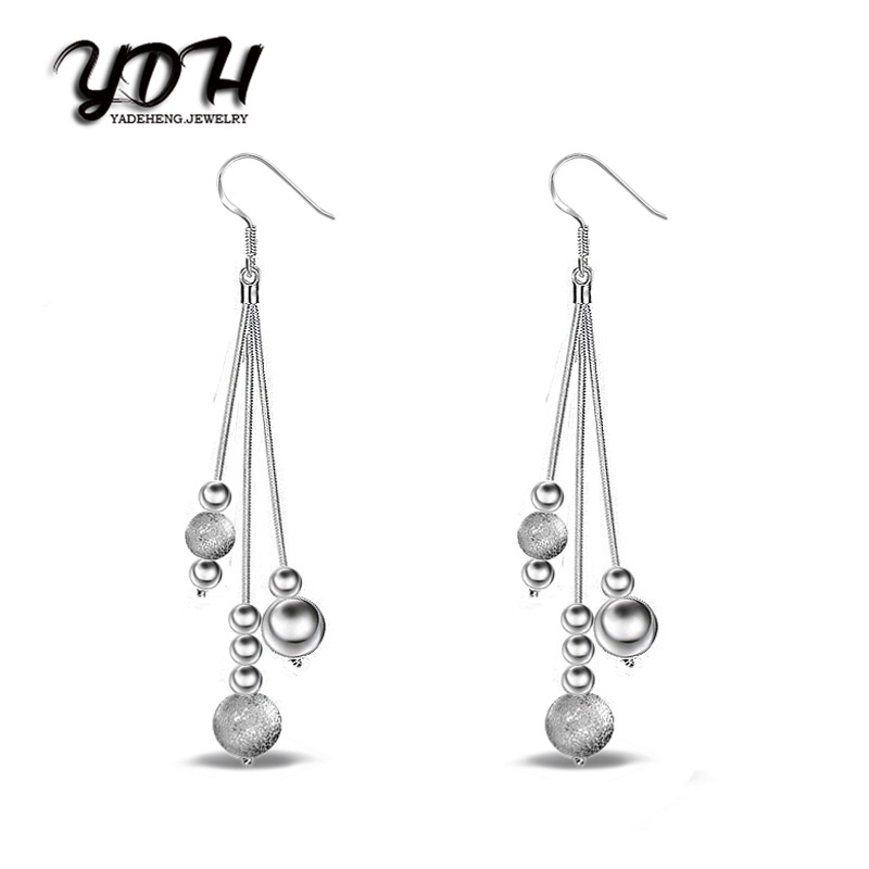 2018 New Oorbellen 5pic Wholesale Fashion Jewelry Charm 925 Silve For Woman Earrings Diy Clover Crystal from Swarovski Name