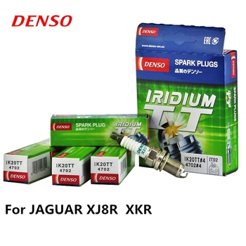 4pieces/set DENSO Car Spark Plug For JAGUAR XJ8R  XKR Iridium Platinum IK20TT