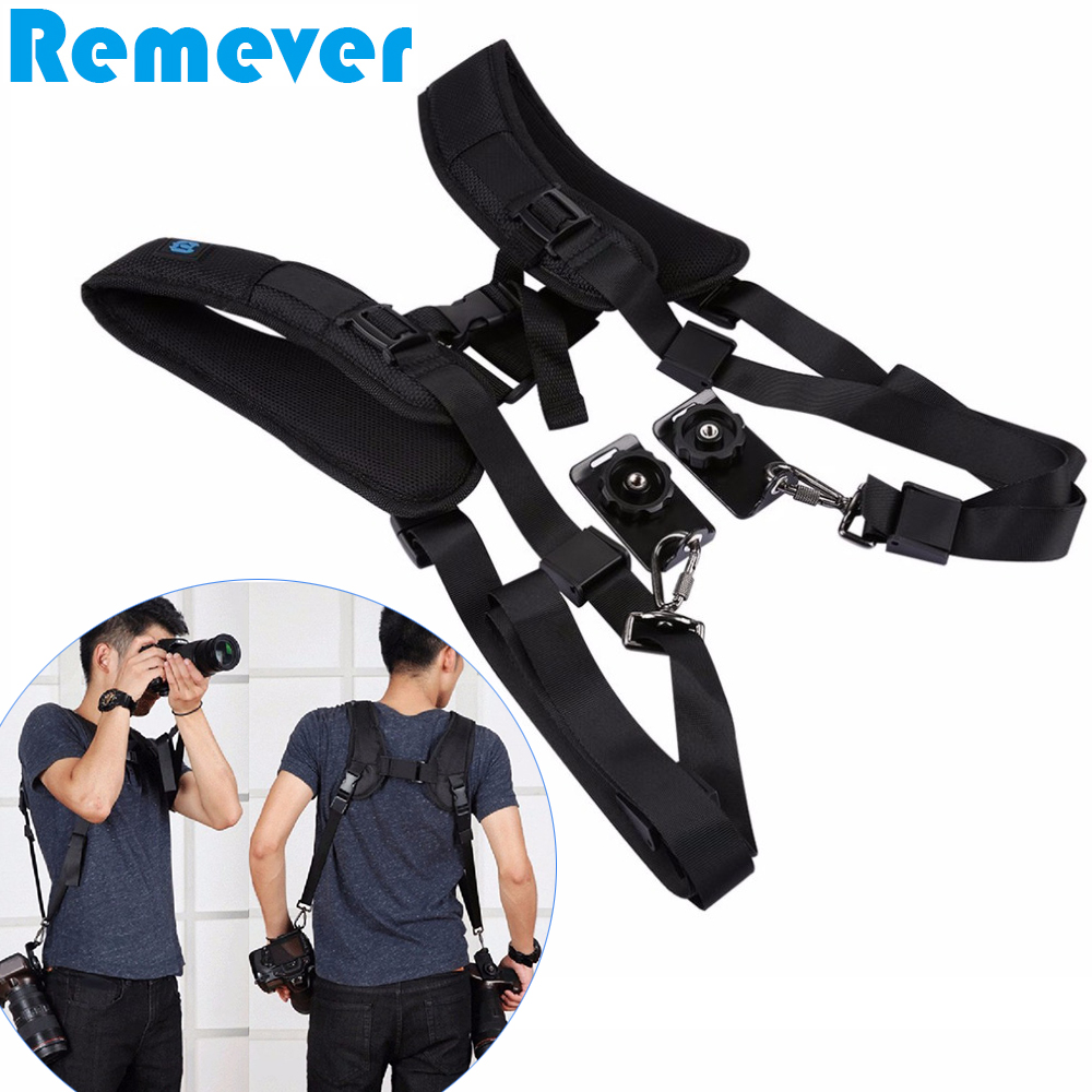 New Universal Camera Strap for Canon Nikon Sony DSLR Cameras Camera Shoulder Strap with 2 Quick Release Plate for Shooting
