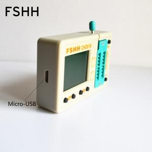 Image 4 - Série de données FALSH dédiée! programmeur CH2016 + adaptateur SOP8 208mil pour puce FLASH de données 45DB161 45DB041