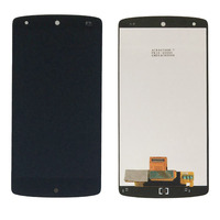 Black LCD Display Touch Screen Digitizer Assembly For LG Google Nexus 5 D820 D821