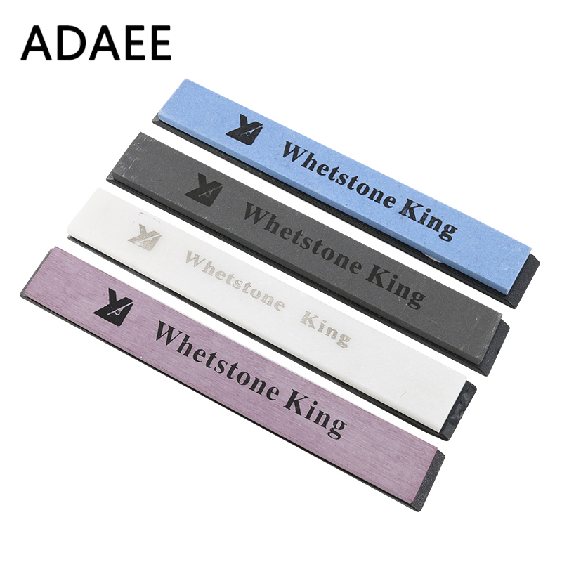 ADAEE 4pcs / Set Whetstone Professional Sharpening Stones 320 #, 800 #, 3000 #, 6000 # Grit Whetstone Grindstone for Knife Sharpener H5