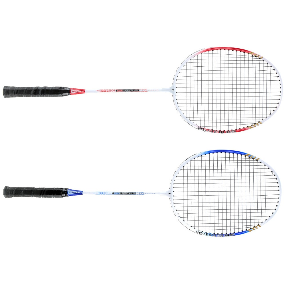 Badminton Schläger Leichte Badminton Set 2 Teile/satz Durable Aluminium Legierung Ausbildung Badminton Schläger Schläger Mit Tragen Tasche Sport Ausrüstung