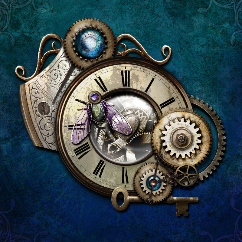 Laeacco Steam Punk Gear Clock Scene Photography Backgrounds Vinyl Seamless Digital Photographic Backdrops Props For Photo Studio custom10ftx20ft vinyl studio photography digital props backgrounds e 3742 maple leaf backdrops cloth