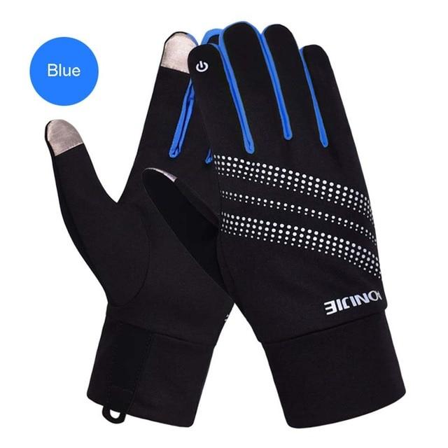 AONIJIE Men Women Outdoor Sports Gloves Warm Windproof Cycling Hiking Climbing Running Ski Full Finger Screen Gloves