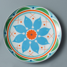 Flower Ceramics Dinner Plate Food Appliance Container Bowl Kitchen Accessories Lunch For Wedding Family Home Decoration
