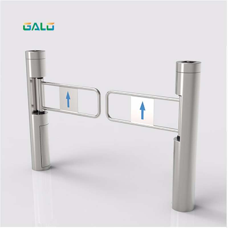 Flap Barrier Exit Gate Automatic Door For SupermarketFlap Barrier Exit Gate Automatic Door For Supermarket