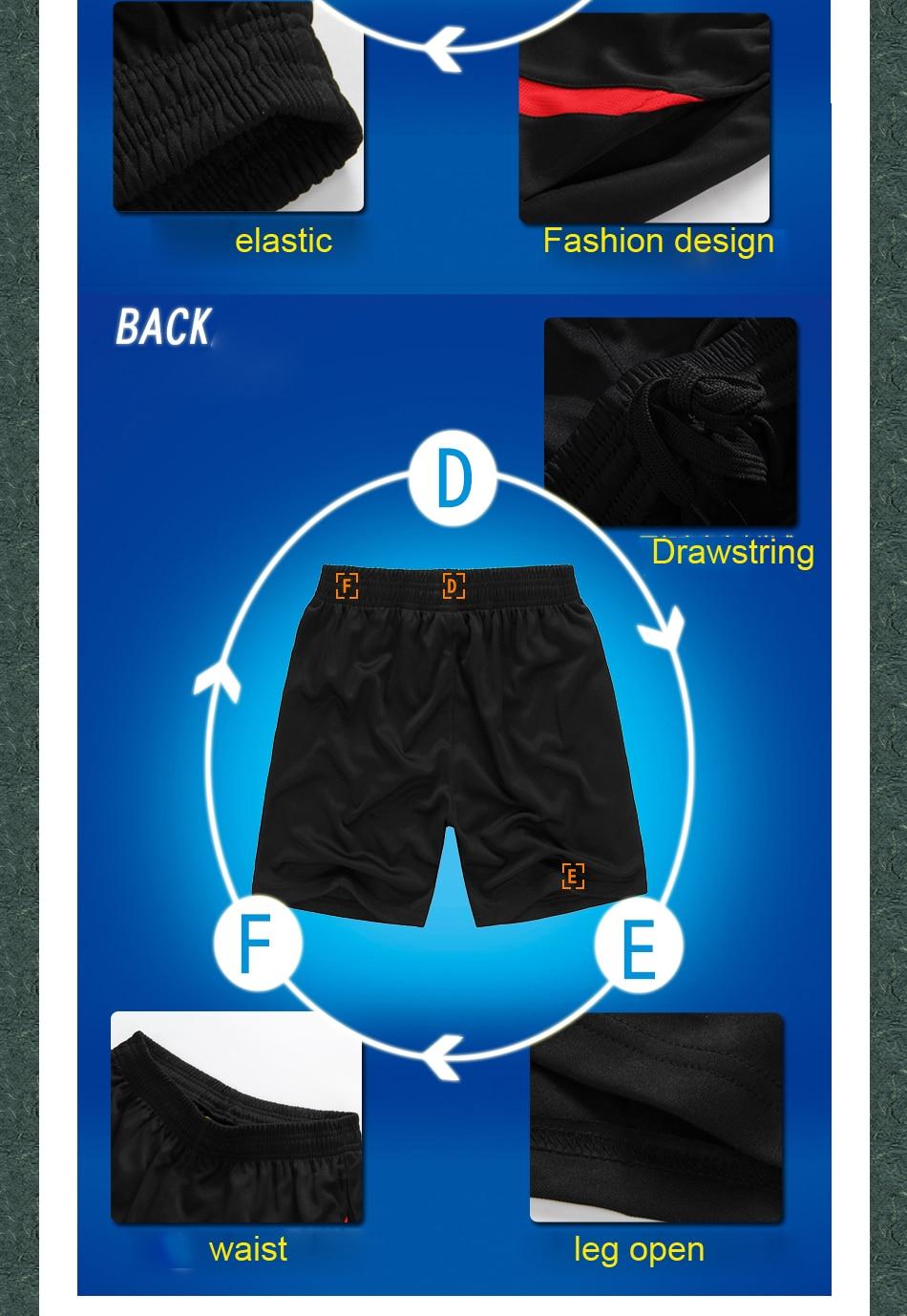 Хит, летние мужские спортивные быстросохнущие шорты для бега, фитнеса, тренировок, пробежек, баскетбола, футбола размера плюс M-5XL