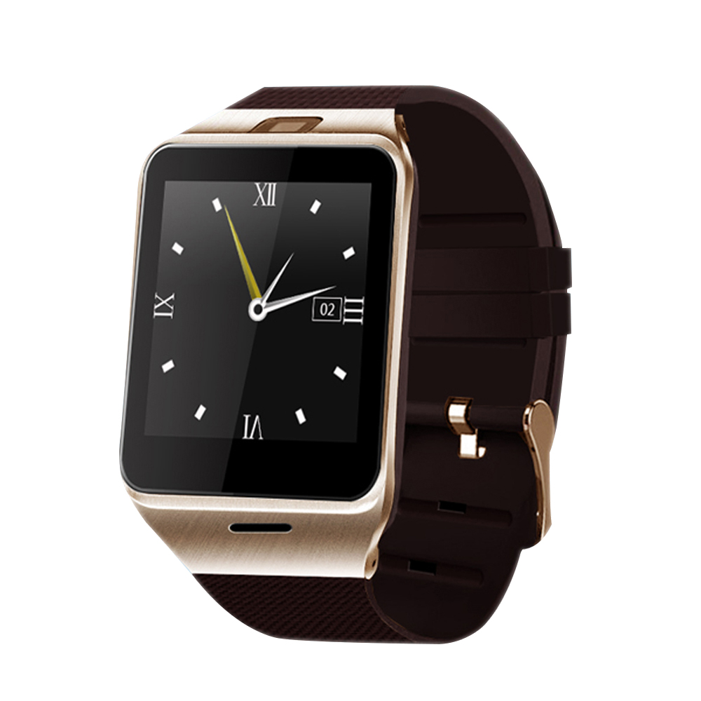 Call Reminder Bluetooth Smart Watch with NFC Function Fashion On Wrist Smartwatch Compatible for Android Apple IOS Smartphones gt08 1 54 mtk6260a nfc bluetooth watch hd tft smart wrist strap