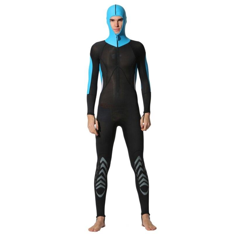 0.5mm Super Soft Dive Wetsuits With Hat Men Women Lycra Surf Swim Equipment Swimwear Jumpsuit Rash Guards Top Sale