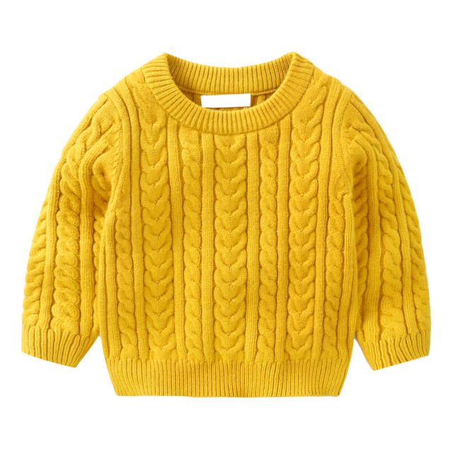 1acdc5f4e Boys Sweaters 2018 New Autumn Winter Knitted Pullovers for Kids Long ...