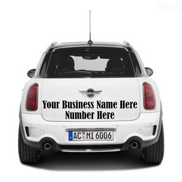 Free Shipping Custom Personalized Business Name Cars Wall - Custom car decals for business   how to personalize