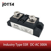 цена на SSR-300A Industrial SSR Single-phase Solid State Relay 300A Input 3-32VDC;Output 440AC