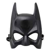 Halloween Half Face Batman Mask Black Masquerade Dressing Party Masks Cosplay Mask Costume Party Role Play Festival Supplies