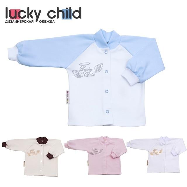 Кофточка Lucky Child для мальчиков и девочек (Ангелочки) [сделано в России, доставка от 2-х дней]