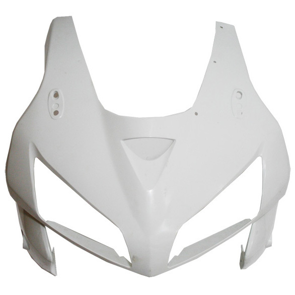 UPPER FRONT FAIRING COWL NOSE FOR HONDA CBR 600RR 2005 2006 CBR600 F5 05-06 ABS motorcycle abs unpainted upper front fairing for honda cbr 600rr 2003 2004 cbr600 f5 03 04