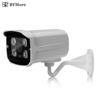 BFMore 1080P POE Mini Starlight Level IP Camera H.265 H.265+ 2.0MP Sony IMX307 Waterproof CCTV Video Surveillance Security Cam