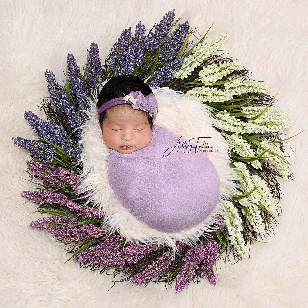 cobertores de pele do bebê do falso