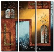 NEW 100% hand painted oil painting Home decoration high quality landscape knife painting  DY3013