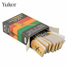Yuker 10Pcs Classic Alto Sax Reeds Reed For Riyin Saxophone 2.5 Strength 2 1/2 Music Xmas Gift  For Musical Instruments
