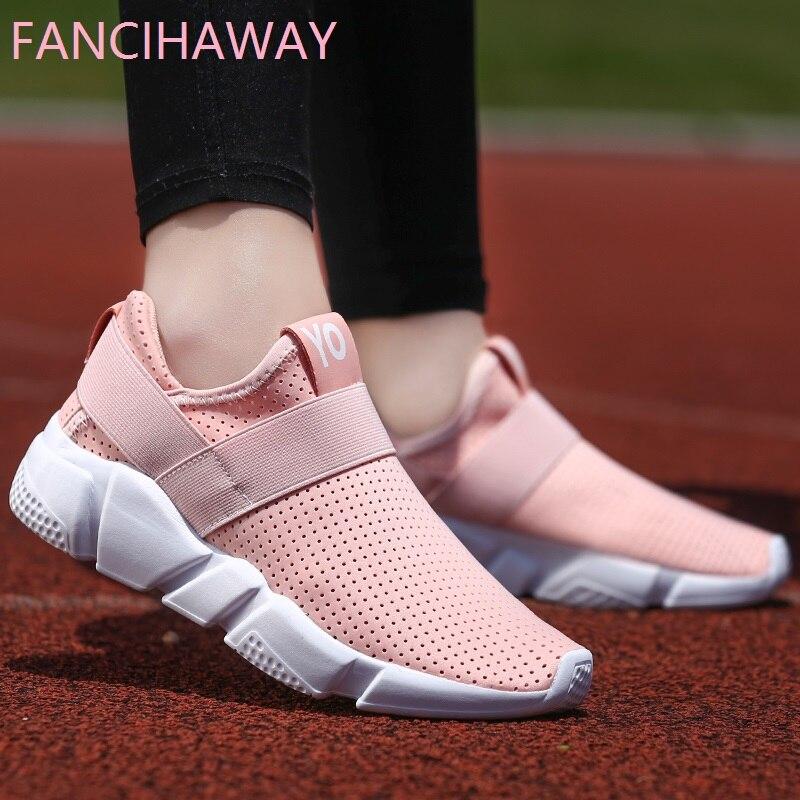 Fancihaway 2018 Лидер продаж легкая дышащая Кроссовки для Для женщин из сетчатого матери ...