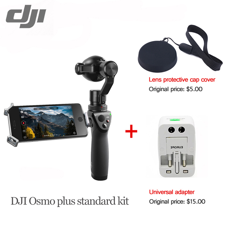 DHL Shipping DJI OSMO+ Handheld 4K Camera Gimbal OSMO Plus Stabilizer 3.5 X Optical