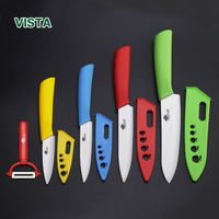Kitchen Knives Ceramic Knife Gift Set High Quality 3 Inch 3 4 5 6 Peeler Knife