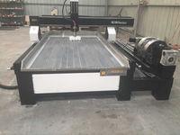 3000W 4 Axis CNC 1325 CNC Wood Engraving Machine Ball Screw Engraving Milling Drilling Cutting Machine