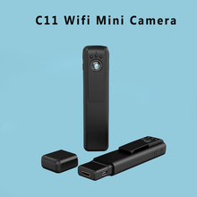 C11 Mini Camera Full Hd 1080P Pen Camera Night Vision Motion Detection Sens Mini Dvr Wi-Fi Smartphone App Review H.264 Camera(China)