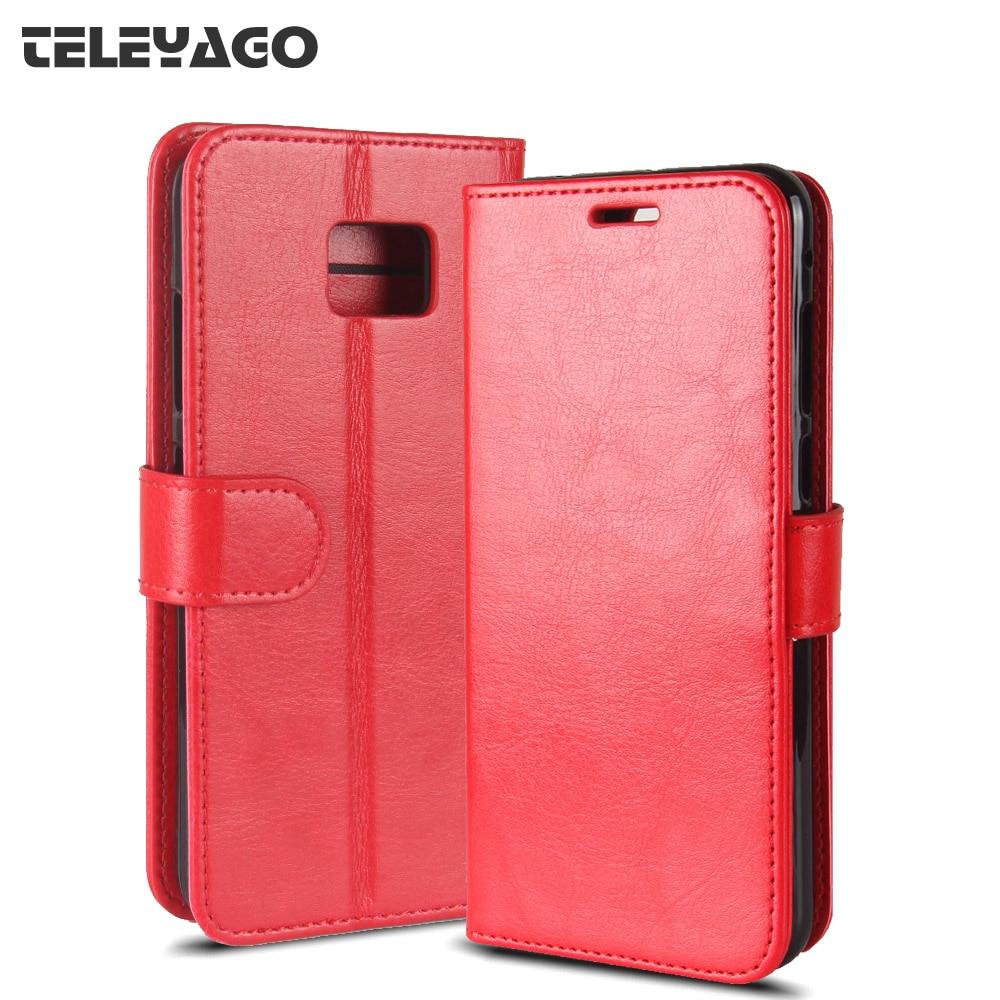 for Asus Zenfone V V520KL Case, Business Flip PU Leather Case Wallet Card Hold ID Slot Kickstand Cover 5.2 inch Shell Bag