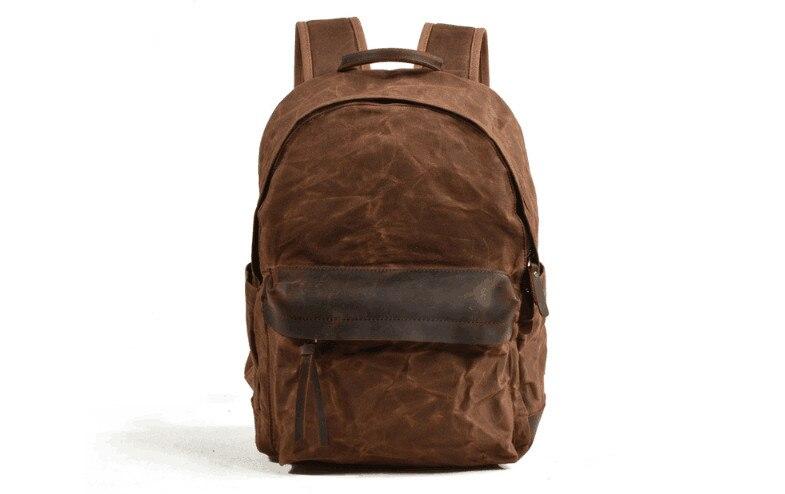 Мужской женский рюкзак из натуральной кожи, 15,6, противоугонная большая вместительность, Mochila, сумки на плечо для ноутбука, мужские сумки для ... - 3