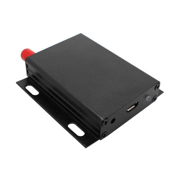 2 sets Lora6102AES 1 Вт 8 км Long range 433 МГц USB интерфейс AES Зашифрованный Беспроводной Приемопередатчик Для Бесплатная Доставка