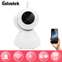 hot deal buy lintratek video surveillance camera hd 720p 1.0mp ip wifi camera mini cctv for baby monitor home security wireless camera ipcam