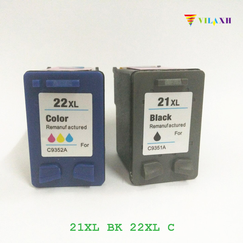 vilaxh 21 and 22 Compatible Ink Cartridge Replacement for HP 21 XL 21XL 22xl Deskjet F380 F2180 F2280 F4180 F4100 F300 Printer befon 21 22 xl compatible ink cartridge replacement for hp 21 22 21xl 22xl deskjet f2180 f2280 f4180 f2200 f380 300 380 printer