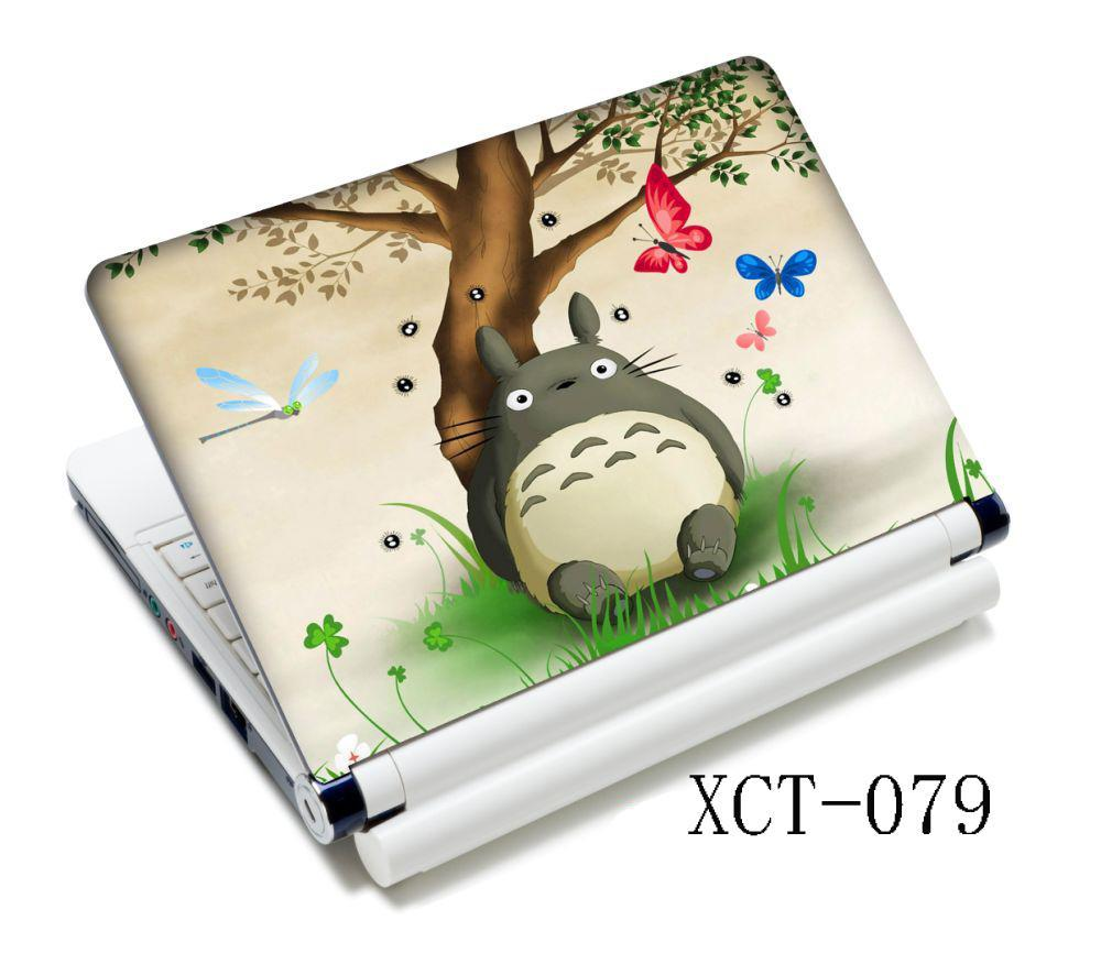 Cute Totoro Skin Sticker Cover Decal Protector For 15.6 15 14 HP IBM Sony VAIO Laptop PC