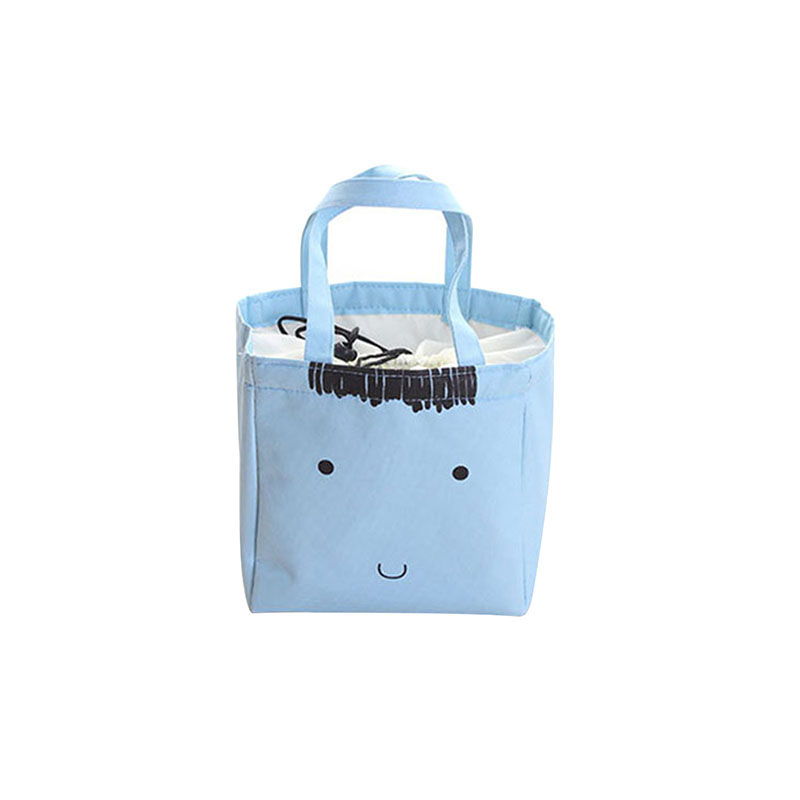 Maras Dream Girl Portable Cartoon Cute Lunch Bag Insulated Cold Oxford Picnic Totes Carry Case For Kids Women Thermal Bag