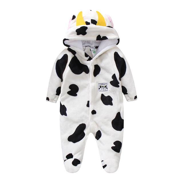 2016 de alta calidad de los niños albornoz Al Por Menor! bebé 1 pc chica chico suave pijama traje de terciopelo de coral vestido de los niños ropa de bebé