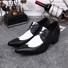 Plus Size 47 Business Wedding Oxfords Shoes For Men Luxury Loafers Genuine Leather Shoes Brogues Lace Up Men Dress Shoes