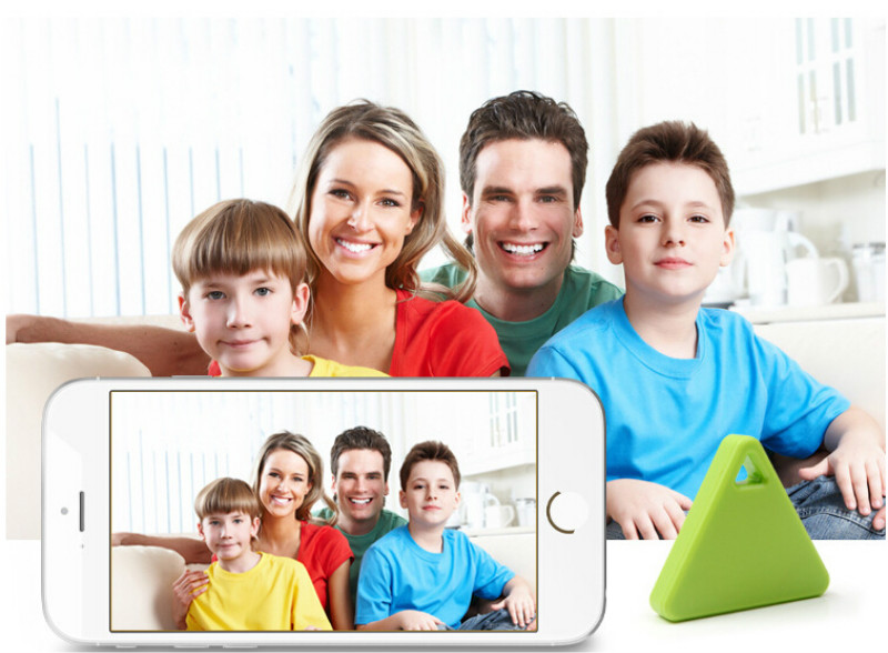 Triangle Kids Child Bag Wallet Key Pet Dog Gps Locator Alarm Anti-lost Keychain Smart Tag Wireless Bluetooth Tracker We Have Won Praise From Customers