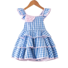 Dream Cradle 2019 New Beautiful Tutu Dress for Party Birthday , Cotton Baby Girls ,Boutique Kids Frock Design