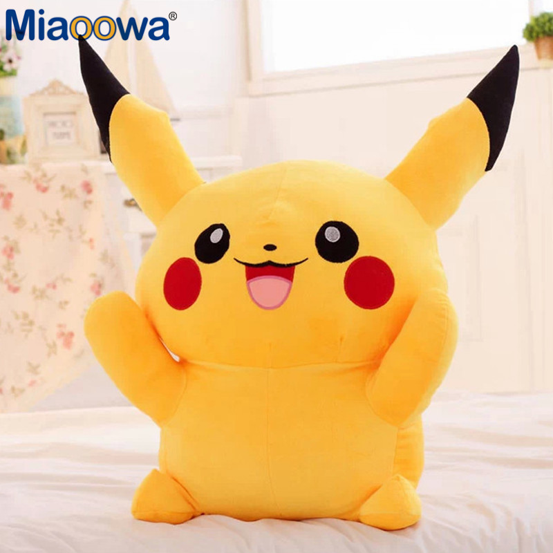 1Pc 40 50 60cm Pikachu Plush Toys High Quality Very Cute Plush Toys Kawaii Dolls Cartoon