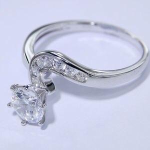 Image 3 - Newshe 2 pçs anel de casamento conjunto 1.5 ct 6 prong ajuste aaa cz sólido 925 prata esterlina noivado anéis na moda jóias para mulher