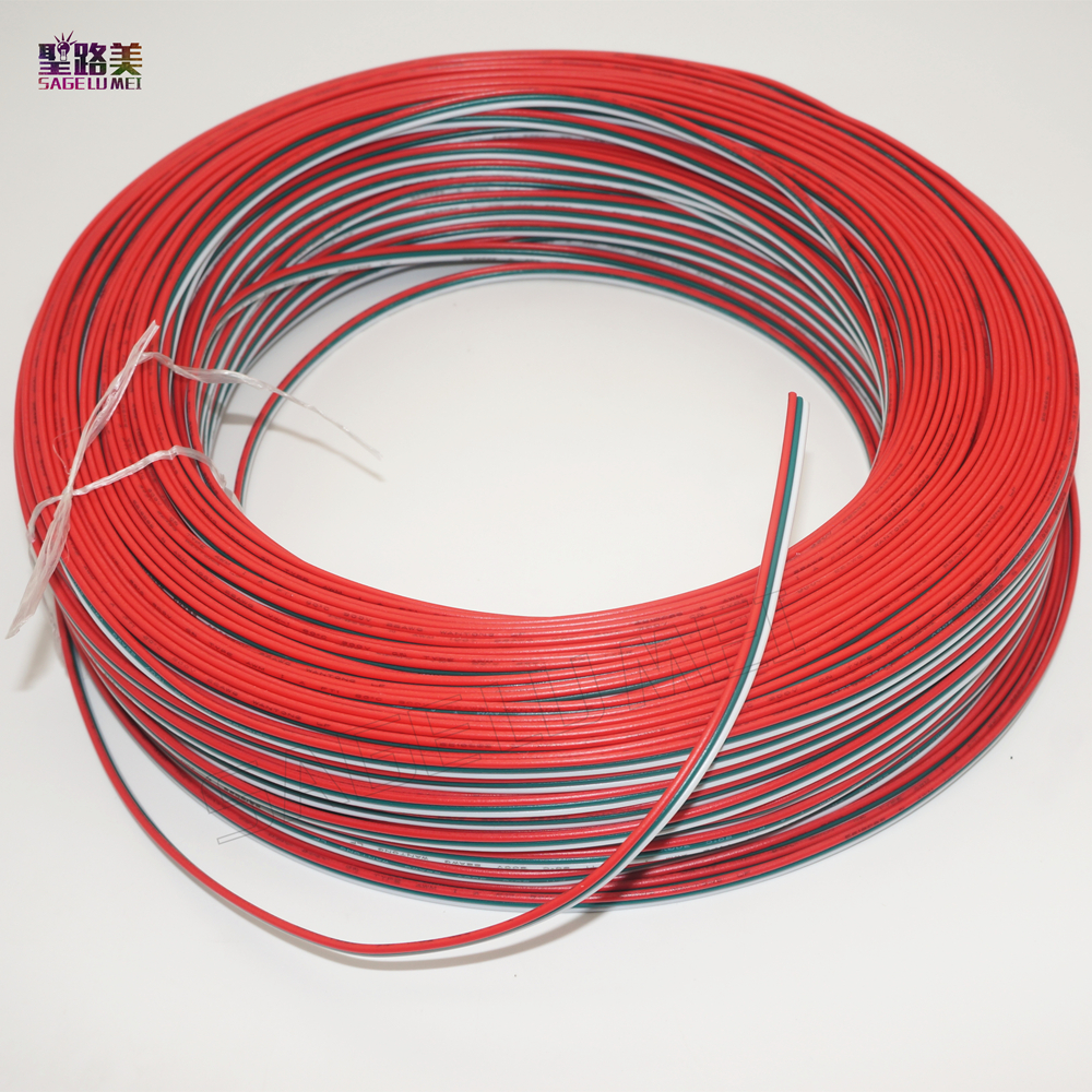 5m/10m/20m/50 meters 3pin extended cable 22 AWG led strip wire extend connector tinned Wire electronical wire connect prower 1meter red 1meter black color silicon wire 10awg 12awg 14awg 16 awg flexible silicone wire for rc lipo battery connect cable
