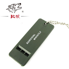 3-Tone Outdoor survival  Emergency whistle high-frequency life-saving equipment camping fire explosion