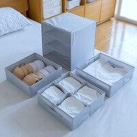 New Home Organizers Oxford Drawer Organizers Underwear Socks Bra Storage Drawer Dust Proof Closet Wardrobe Storage Boxes