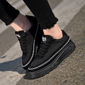 Image 3 - SWYIVY Sneakers Woman Shoes Black 2019 New Autumn Womens Slip On Shoes Canvas Casual Sneakers For Women Flats Breathable Size40