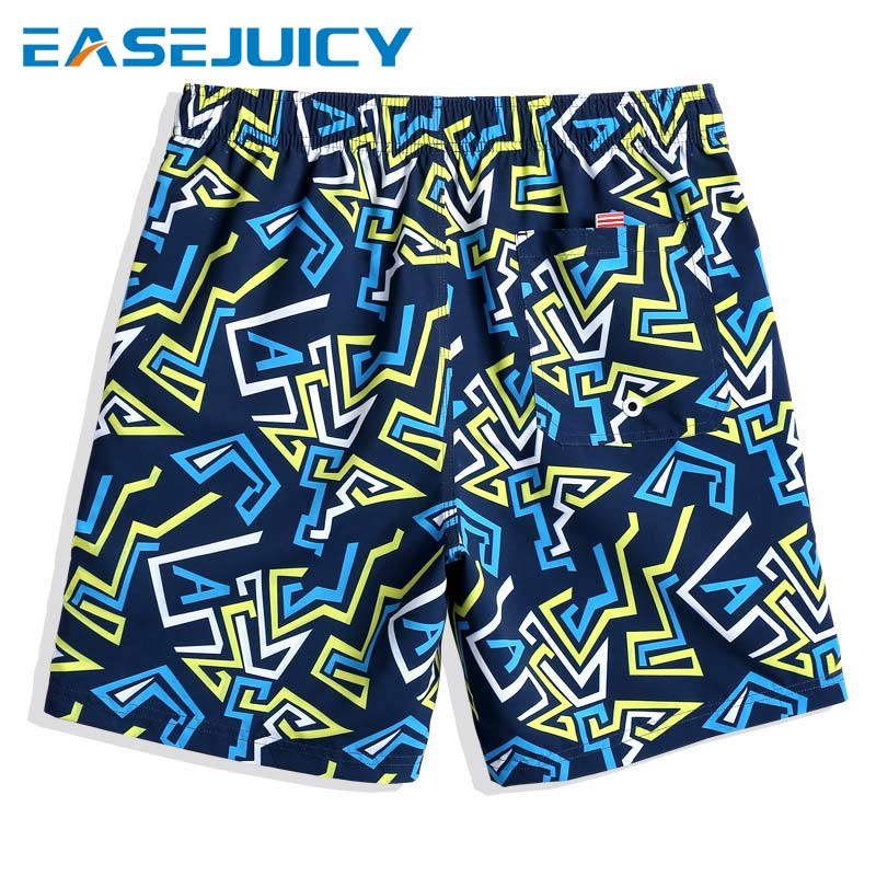New Bathing suit Men's swimming trunks   board     shorts   quick dry camouflage joggers printed swimwear beach   shorts   mesh