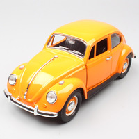 1:24 classic mini Superbug Beetle 1967 vintage Diecasts Vehicle miniature metal model scale Bug car bus toys gifts of collection